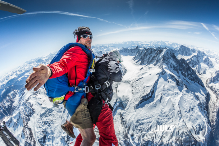 Mont Blanc Skydive 5