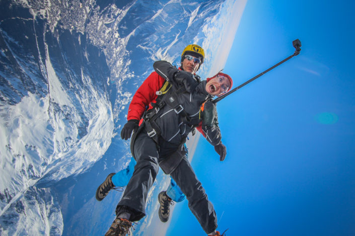 Mont Blanc Skydive 12