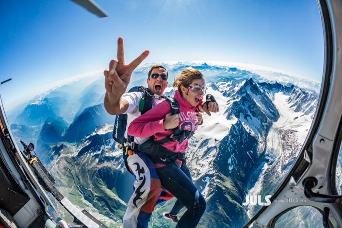 Mont Blanc Skydive