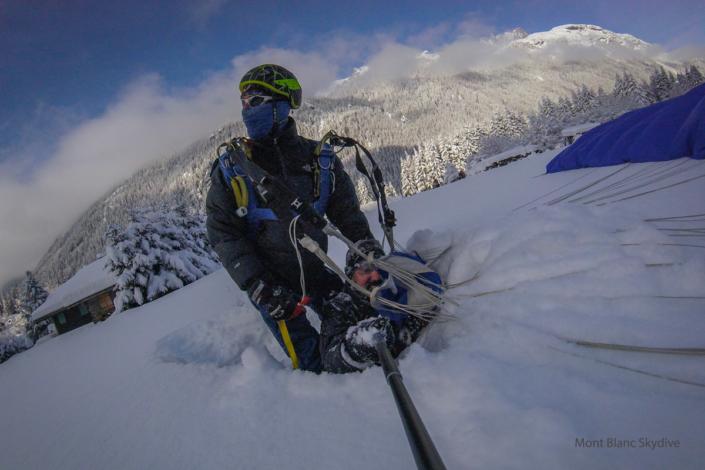 Mont Blanc Skydive