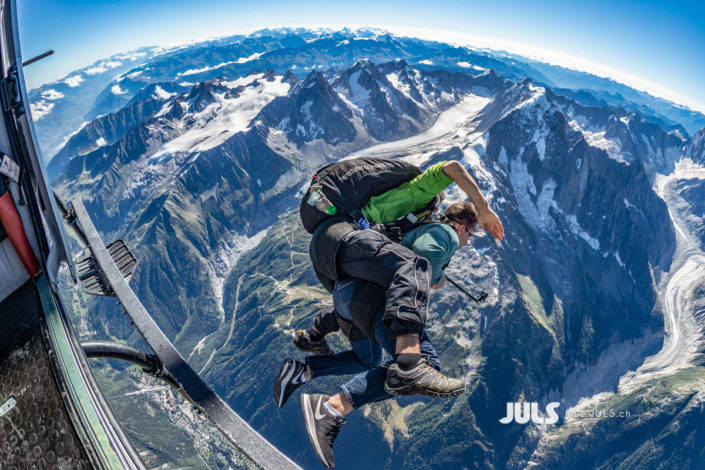 Mont Blanc Skydive 7