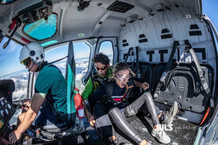 baptême de saut en parachute