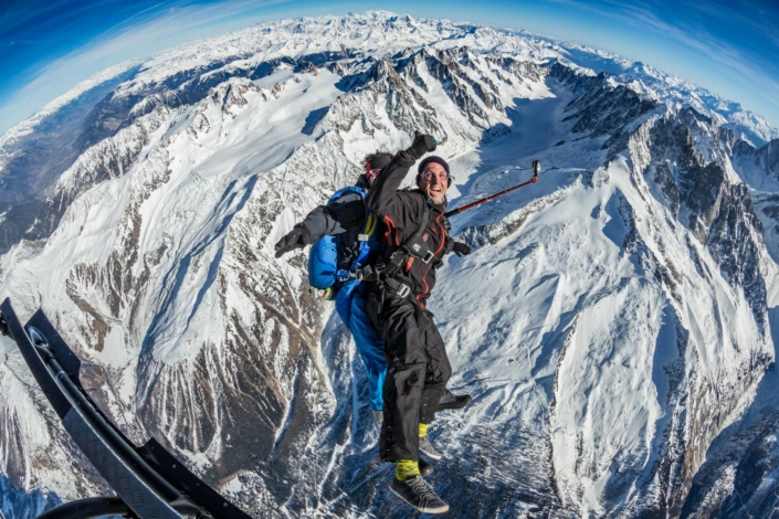 Mont-Blanc Skydive