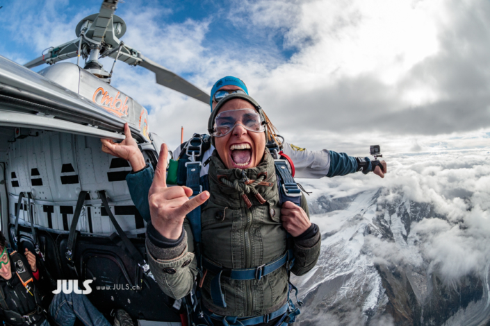 Mont Blanc Skydive 3